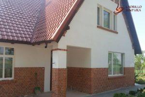 Renowacja cegieł i nowe tynki zewnętrzne
