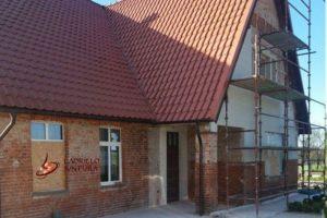 Renowacja cegieł i nowe tynki zewnętrzne - przed pracami