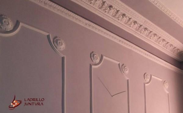 Tynki ozdobne i sztukateria w Pałacu